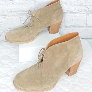 Madewell 1937 Footwear | Desert Suede Lace Up Boot